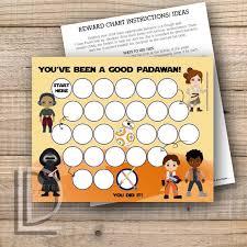 Star Wars Behavior Chart Star Wars Reward Chart Template Www Bedowntowndaytona Com