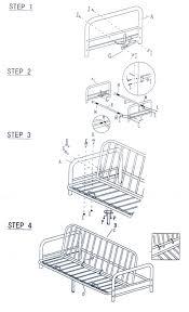 cute mainstays metal arm futon instruction manual metal