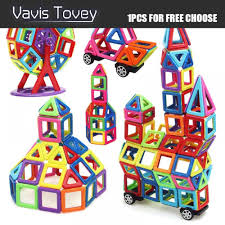 <b>Vavis Tovey</b> 1PCS MylitDear Big <b>Magnetic</b> Educational Construction ...