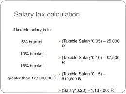 Salary Calculator Magnificent Cambodian Tax On Salary