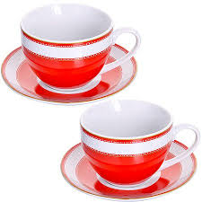 <b>Чайная пара Loraine</b> 28638 <b>220</b> мл, керамика, 4 предмета ...