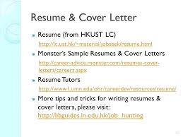 Awesome Collection Of Monster Sample Cover Letter Cool Monster