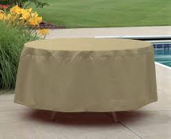 image of patio table covers round