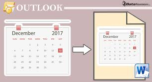 Calendar In Word Document 3 Quick Methods To Export Your Outlook Calendar To A Word