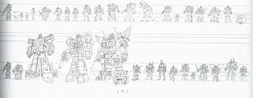 Transformers G1 Scale Chart Transformers Scale And The Multiverse Tfw2005 The 2005