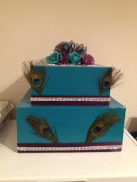 for this wedding, peacock feathers are out, but everything else is Wedding Card Box Joanns find this pin and more on wedding my cardbox Rustic Wedding Card Box