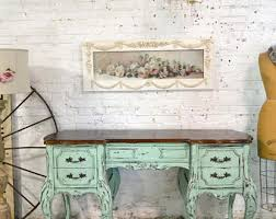 Painted Cottage Chic Shabby Romantic French Desk