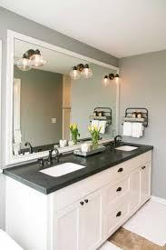 white bathroom cabinets with dark countertops. Enchanting White Bathroom Cabinets With Dark Countertops Inspirations Also Granite Ideas