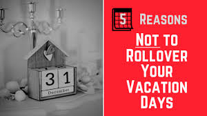 rollover your vacation days