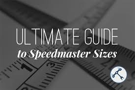 Ultimate Guide To Omega Speedmaster Sizes Wahawatches