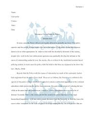 prime essay writings term paper excessive use of force by police prime essay writings term paper sur 1 university course tutor date