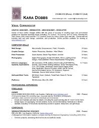 fashion student resume