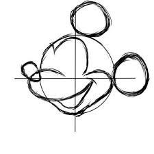 ミッキー描き方講座2ディズニー イラスト Bijoオフィシャルブログ