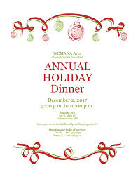 holiday dinner west central holiday dinner dec 2nd 2017 kansas city na
