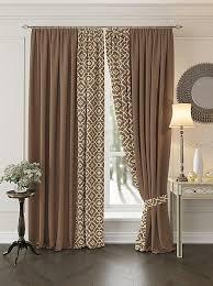Купить комплект штор «Луиви (коричневый)» коричневый ...