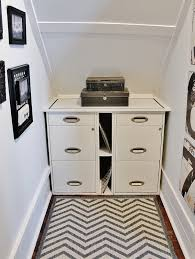 office under stairs. Built In File Cabinets Office Under Stairs