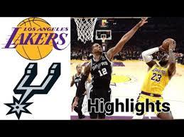 Lakers Vs Spurs HIGHLIGHTS Full Game | NBA December 30