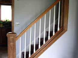 replacing wooden spindles with iron designs