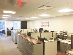large office space. Measuring 4,394 Rentable Square Feet, The Space Shows Extremely Well With High-end Glass-fronted Offices And Wood Doors. Layout Consists Of 7 Perimeter Large Office :