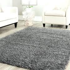 dark gray area rug grey round handmade