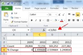 Add Excel Chart Percentage Differences Socalsql Jeff