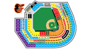 Baltimore Orioles Seating Chart Oriole Park At Camden Yards Seating Map Netting