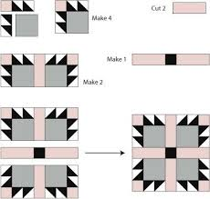 Bear's Paw Quilt Block Pattern & Sew a Bear's Paw Quilt Block Adamdwight.com