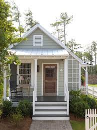Cottage Design Ideas inspiration for a small farmhouse gray one story exterior home remodel in atlanta