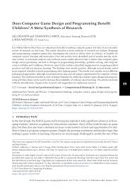 Uc Santa Cruz Computer Science Game Design Pdf Does Computer Game Design And Programming Benefit