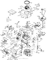 Tecumseh lev100 338013c parts diagram for engine parts list lev pg1