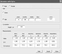 Pft Test Results Chart Reference Values For Lung Function Past Present And Future