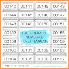 template raffle tickets free printable raffle ticket template maker baby shower css