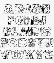 Small Picture Easy Alphabet Coloring Pages Coloring Coloring Pages