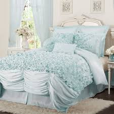ruffled bedding is frilly and feminine  webnuggetzcom