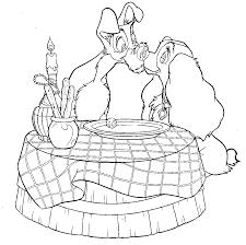 Valentine Coloring Page Nwaahhh Disney Coloring