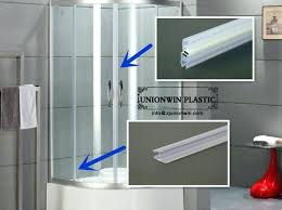 under shower door strip shower door magnetic strip magnetic door strips shower door seal strip homebase