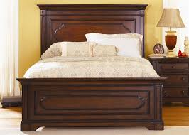 Addison Panel Bed 6 Piece Bedroom Set In Cherry Finish By Liberty Furniture    617 BR
