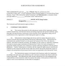 Funky Building Agreement Template Gift - How To Write A Letter Of ...