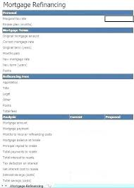 Template Mortgage Payment Calculator Excel Spreadsheet