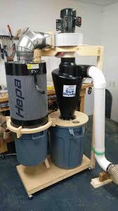 garage vacuum system home central install yourhyoucom dust collector vac finished cart dust diy garage