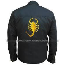 Driver Ryan Gosling Black Rider Drive Scorpion Biker Cordura