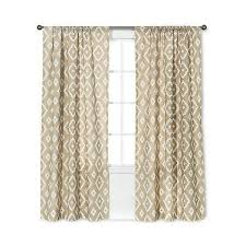 threshold farrah southwest curtain panel tan 135 dkk liked on polyvore featuring