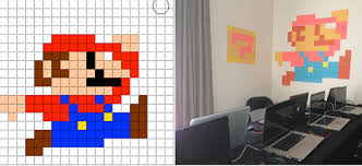 Dma How To Creating Pixel Art With Post It Notes Digital