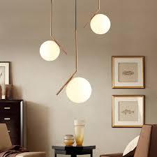 minimalist lighting. Milky White Glass Globe Minimalist Pendant Lights At Lifeix Design Lighting