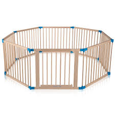 baby vivo baby child playpen made of wood 8 elements individually adjustable premium b
