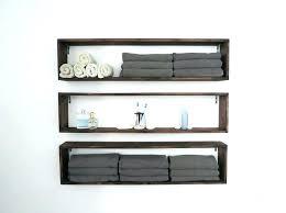 bathroom wall shelf unit shelves in the tutorial