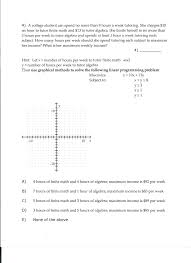 my algebra help algebra help best ideas about algebra help algebra  a college student can spend no more than hour com please help please show work graph