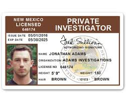 Card Investigator Pvc Private Id