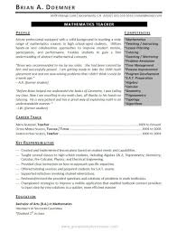 ... cover letter Professionally Written Teacher Resume Example Resumebaking  Exampleexample of teaching resume Extra medium size