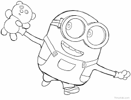 Minion Coloring Page Minions Coloring Pages Minion Coloring Page Pdf